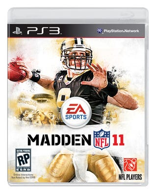 Illustration for article titled Brees — and New Orleans — Grace the Madden NFL 11 Cover
