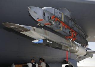 Illustration for article titled USAF X-51A Waverider Images