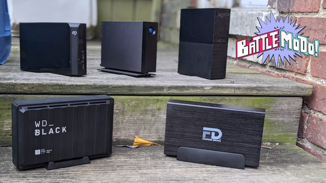 The Best External Hard Drive for the Digital Hoarder