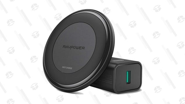 Take $10 Off RAVPower s 10W Fast Wireless Charger