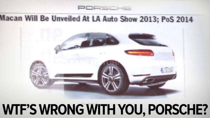 Illustration for article titled Leaked Porsche images reveal van replacement for rich soccer moms