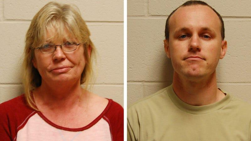 Nancy Rushton McCorkle (left) and Ryan Francis Barnett (right