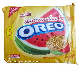 Illustration for article titled Watermelon Oreos?