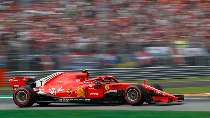 Illustration for article titled Kimi Raikkonen Sets the Fastest Lap in Formula One History With a Stellar Qualifying Run at Monza