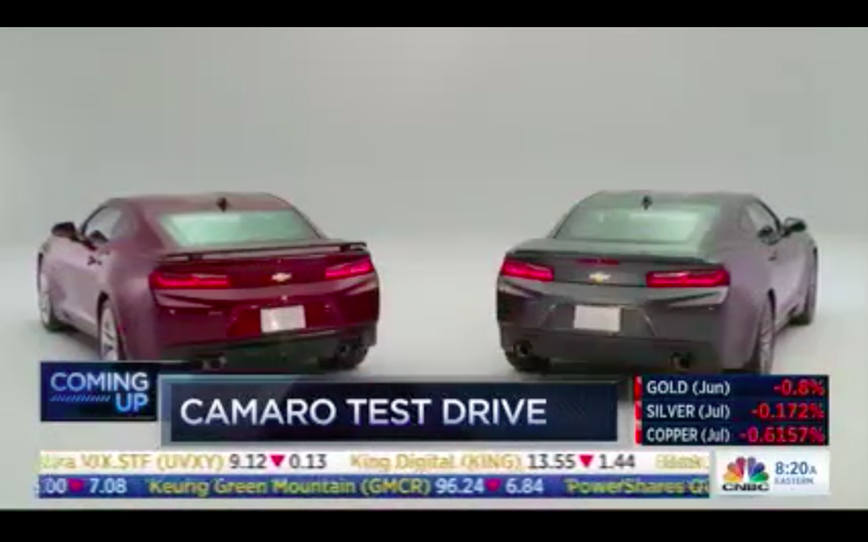 The world got to know the 2016 Chevrolet Camaro because someone at CNBC screwed up. Leaks happen!