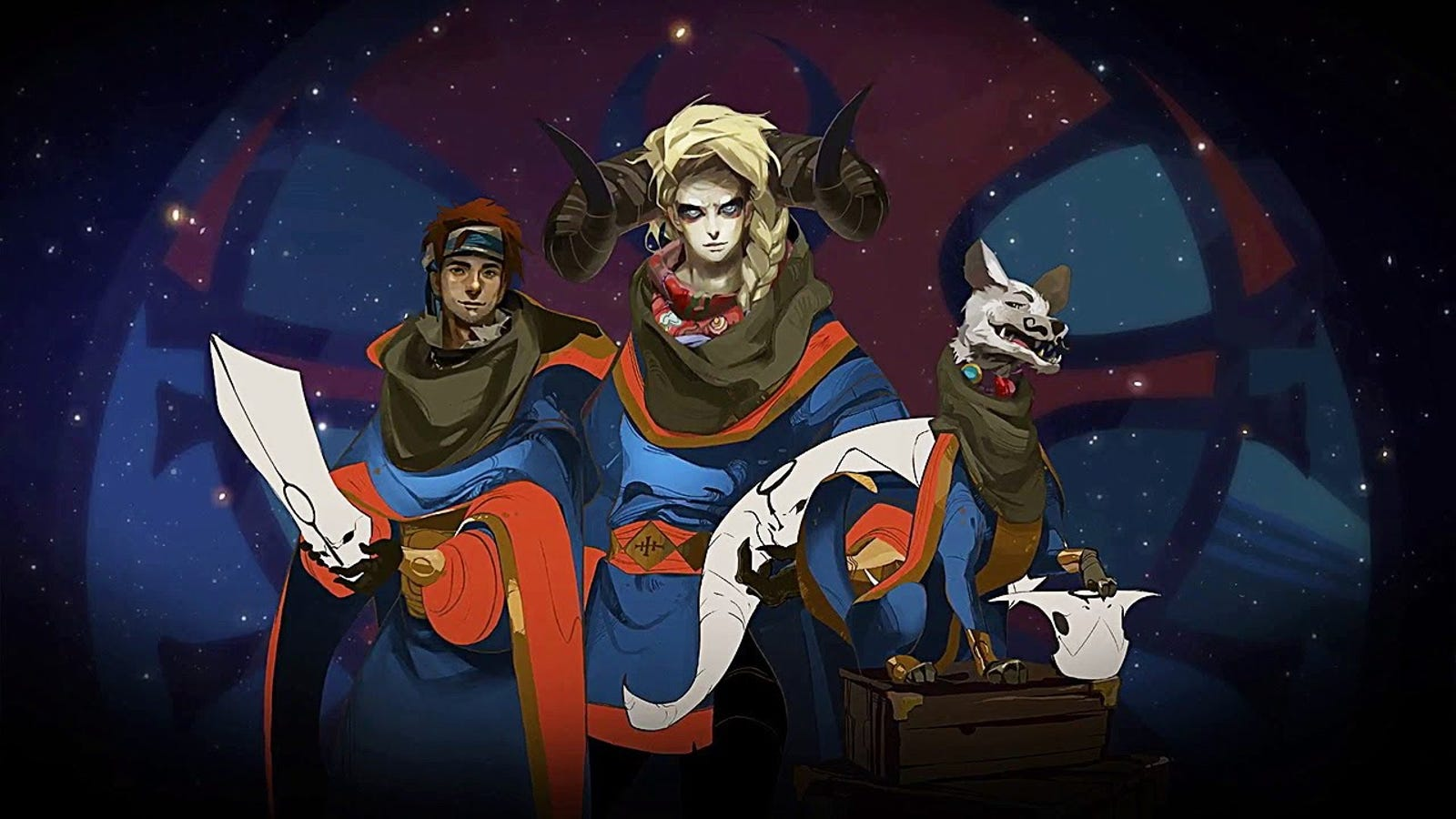 A Substantial And Interesting Discussion Of Pyre, Feelings, Dogs,  Mustaches, And God