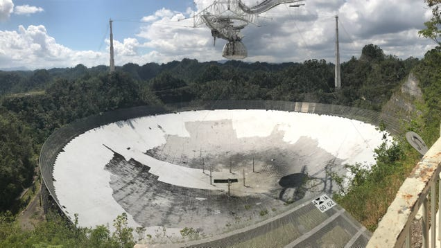 Six Months After Hurricane Maria, Puerto Rico s Famous Telescope Is Still Under Threat