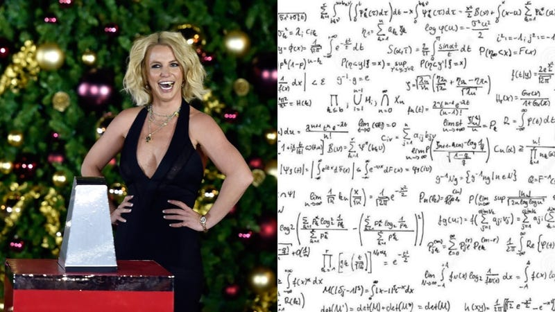 Illustration for article titled Britney Spears Good at Math