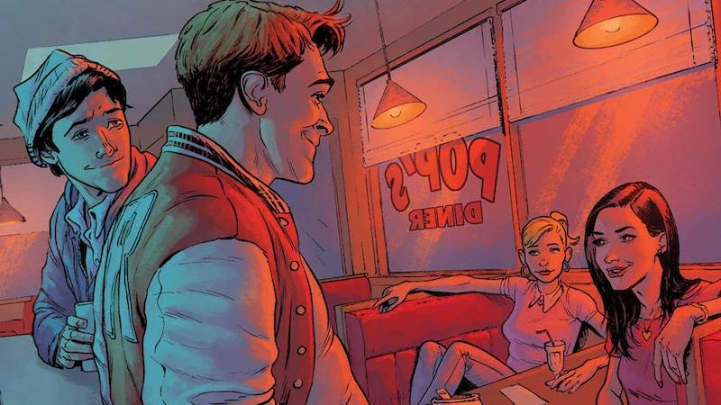 Image: Riverdale art by Adam Gorham