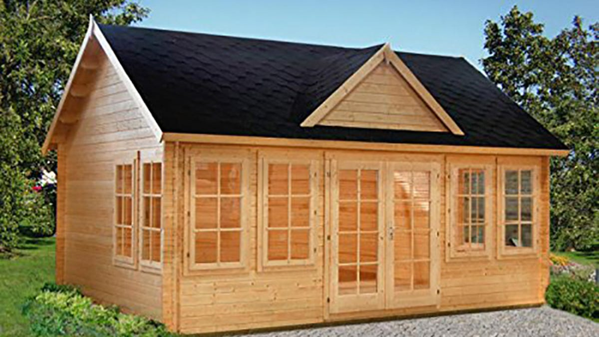 The 11 Best Tiny Houses You Can Buy On Amazon Wiring A Log Home