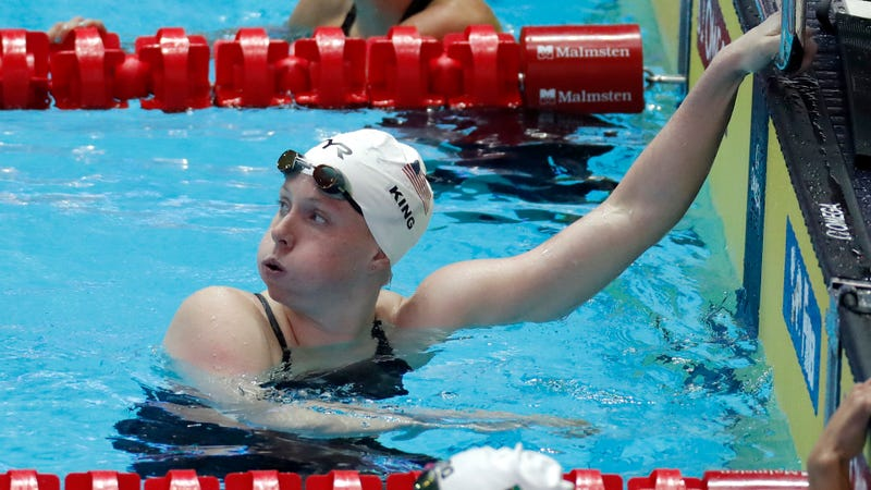 Illustration for article titled Swimming Gets A New Controversy With Lilly King's Vague Disqualification