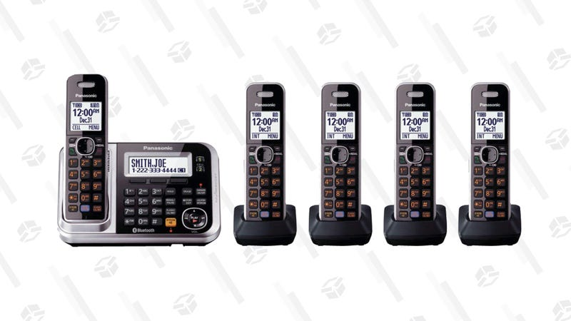 Panasonic Link2Cell Bluetooth Cordless Phones | $85 | Amazon