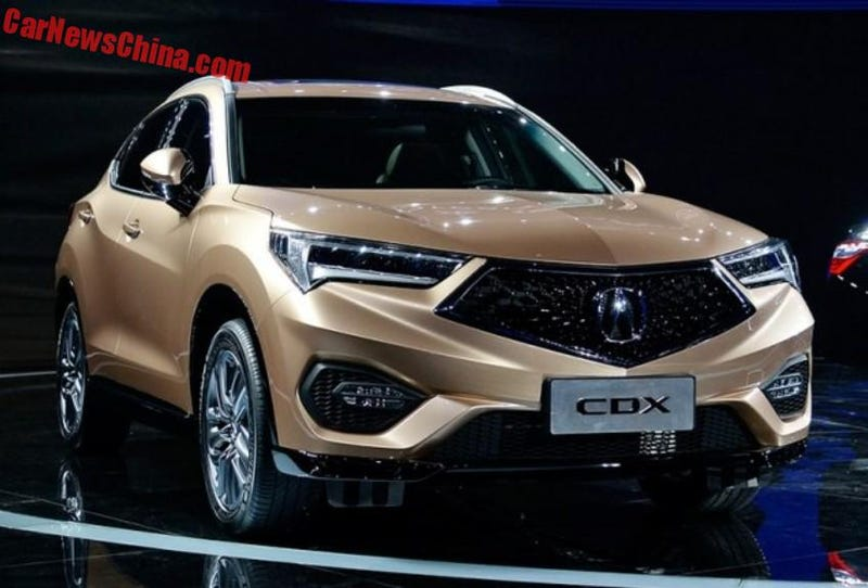 Illustration for article titled The Acura CDX is the first new Acura to experiment with the new design language