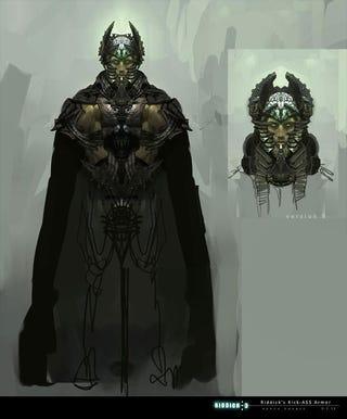 "Illustration for article titled Riddick Concept Art for ""Necro-Riddick"""