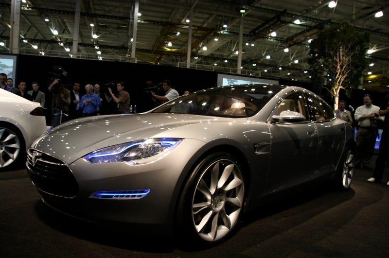 Worksheet. Tesla Model S Sedan Concept First Official Pictures