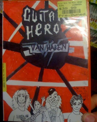 Illustration for article titled Well, Guitar Hero: Van Halen Did Need Better Box Art