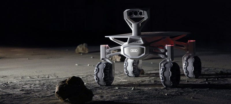 Illustration for article titled Audi's Developing a Moon Rover For Google's Lunar Xprize