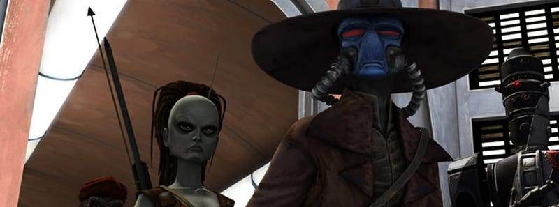 Illustration for article titled Things Get Darker, And Better, On Clone Wars Finale