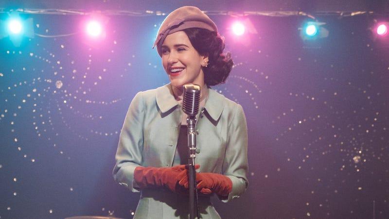 "Rachel Brosnahan as Miriam ""Midge"" Maisel in The Marvelous Mrs. Maisel"