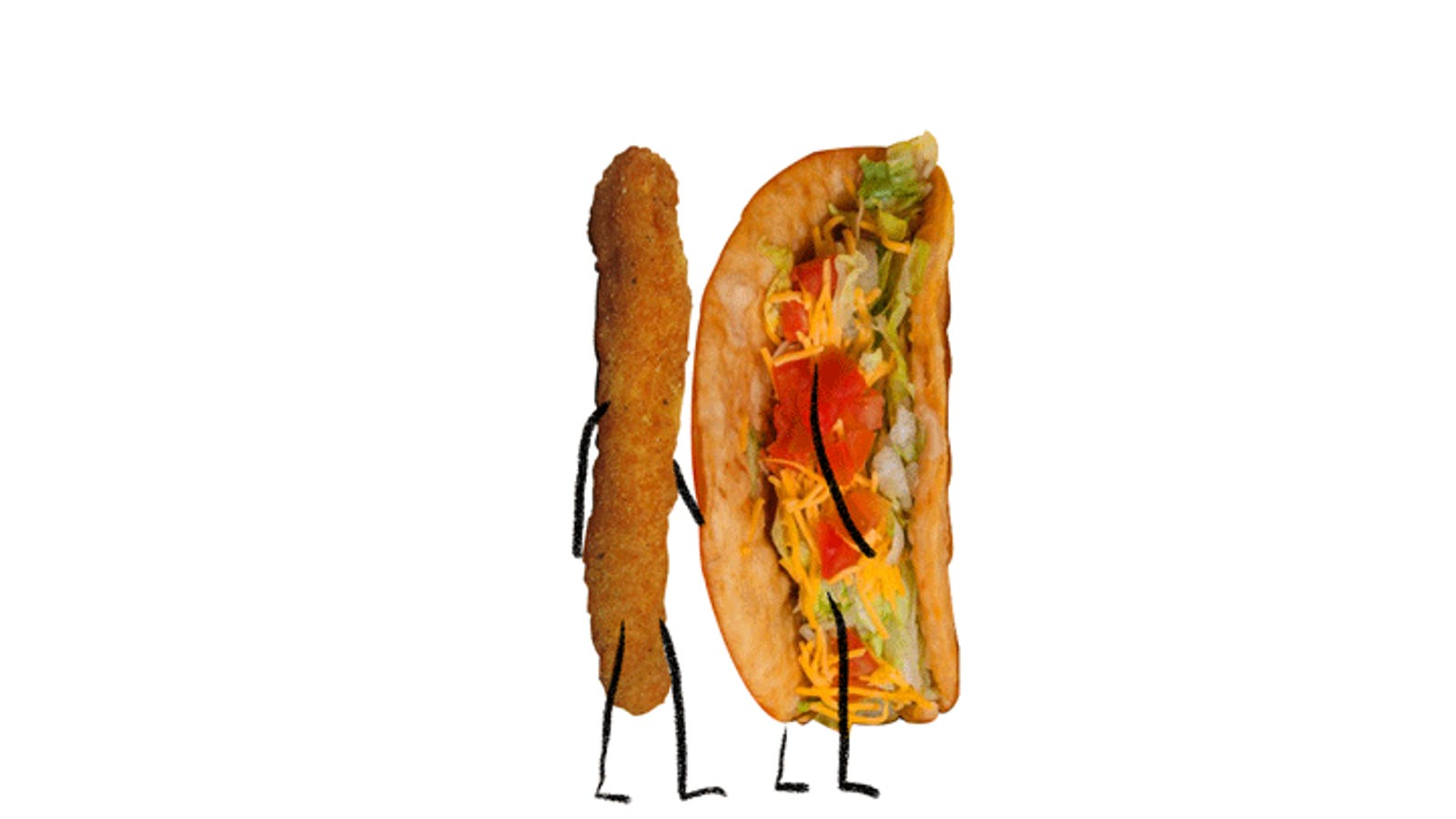 Fast Food Smackdown Burger Kings Jalapeno Chicken Fries Vs Taco Bells Quesalupa