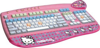 Illustration for article titled Hello Kitty Keyboard