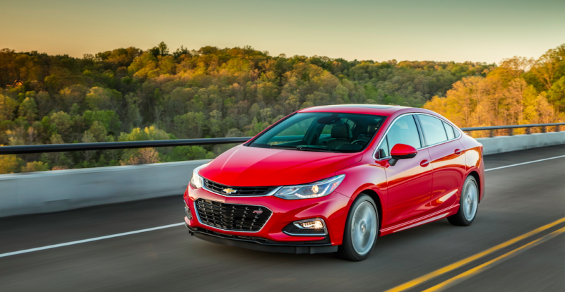 The All New 2017 Chevrolet Cruze Is A Pretty Good Compact Car For Ers Who Prefer Added Torque And Fuel Efficiency Of Sel Still Think