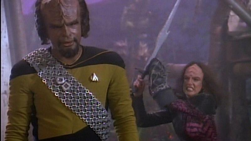 Worf star trek wife sexual dysfunction