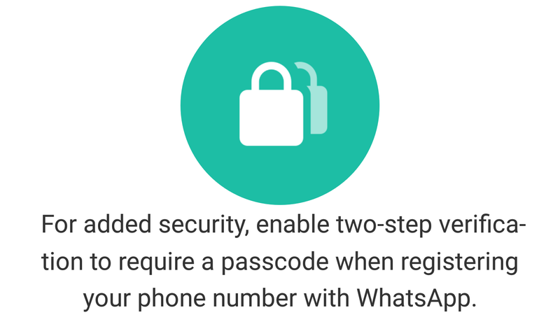 Illustration for article titled WhatsApp Supports Two-Step Authentication, So Enable It Now