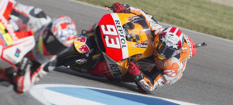 Illustration for article titled Marc Marquez Has Never Lost A MotoGP Race In America
