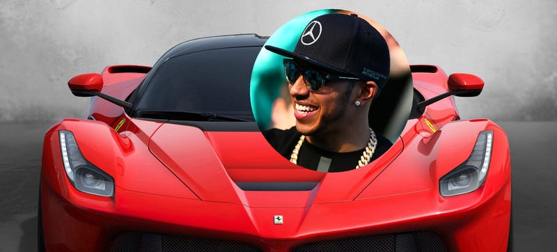 Illustration for article titled Mercedes Driver Lewis Hamilton Celebrates Win By Buying A LaFerrari