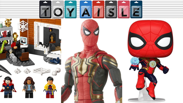 Spider-Man: No Way Home Swings in to Swipe All the Week s Toy News