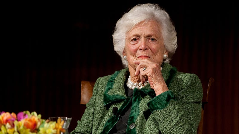 Illustration for article titled A Historic Loss: Barbara Bush, A Woman Famous For Never Once Being Horny For The 'Stranger Things' Kids, Has Passed Away At The Age Of 92