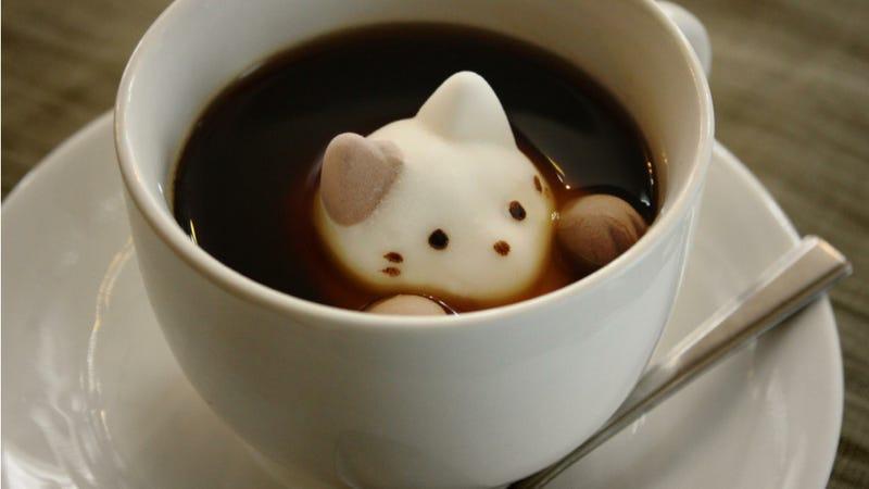 Illustration for article titled A legcukibb az asztalon: kávéban úszó cicacukor