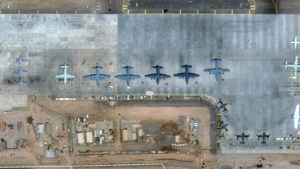 Why Theres A Nasa Jet At Massive Military Complex In Africa Osprey Engine Diagram