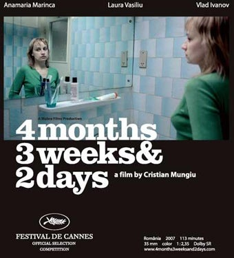 Illustration for article titled Romanian Abortion Drama 4 Months Opens To Rave Reviews