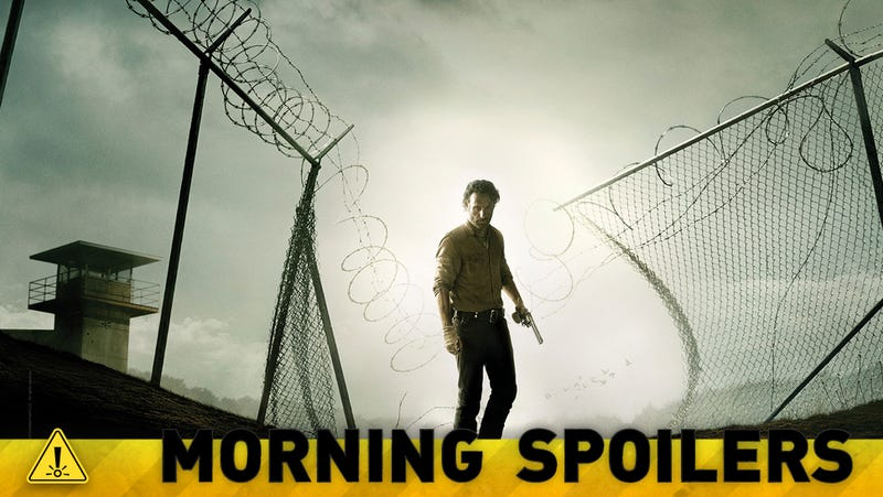 Illustration for article titled Does a new Walking Dead photo spell disaster for one major character?