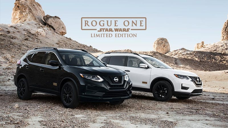 Illustration for article titled Remember how we were all irritated that so far in 2017 the Nissan Rogue is the best selling non-pickup vehicle in the US?