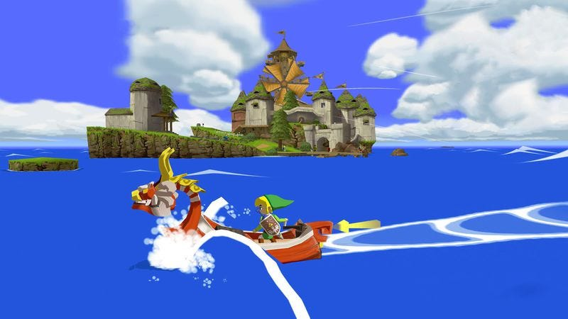 Illustration for article titled Readers wonder why Zelda fans railed against the Wind Waker look