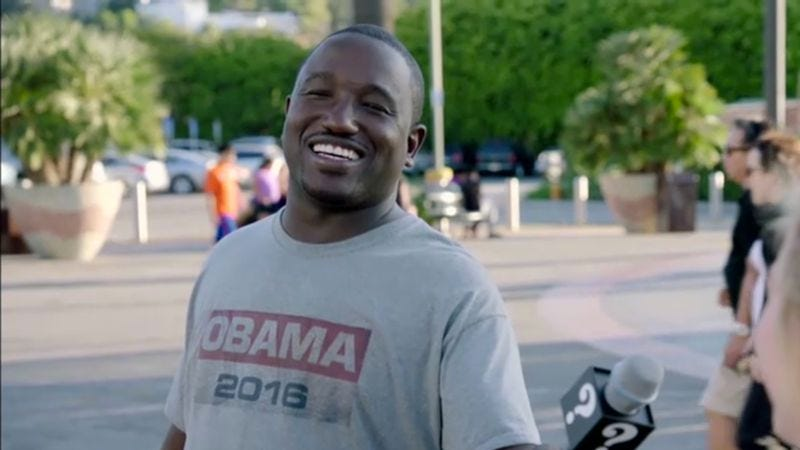 Illustration for article titled Hannibal campaigns for Obama's third term in this clip from Why? with Hannibal Buress