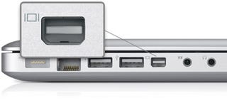 Illustration for article titled MacBook Users Rejoice: The Kanex Mini DisplayPort to HDMI Adapter Includes USB Audio