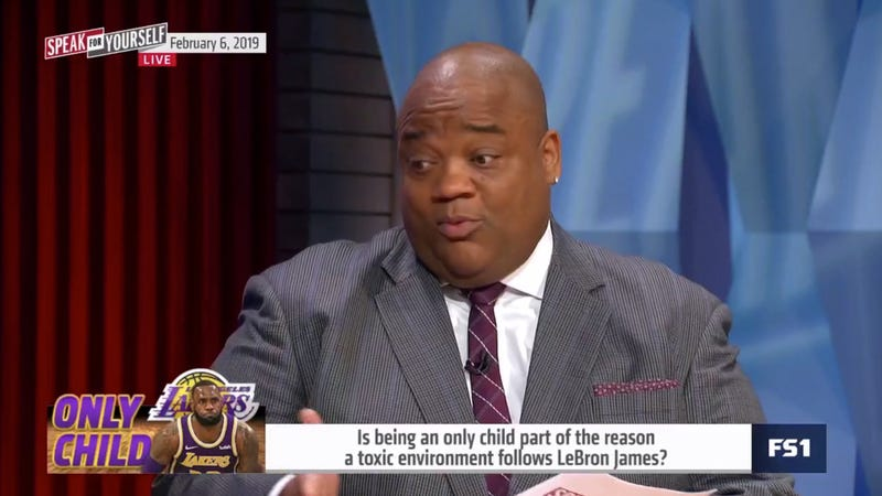 Illustration for article titled Jason Whitlock: LeBron James Is A Fraud And A Bad Leader Because He's An Only Child