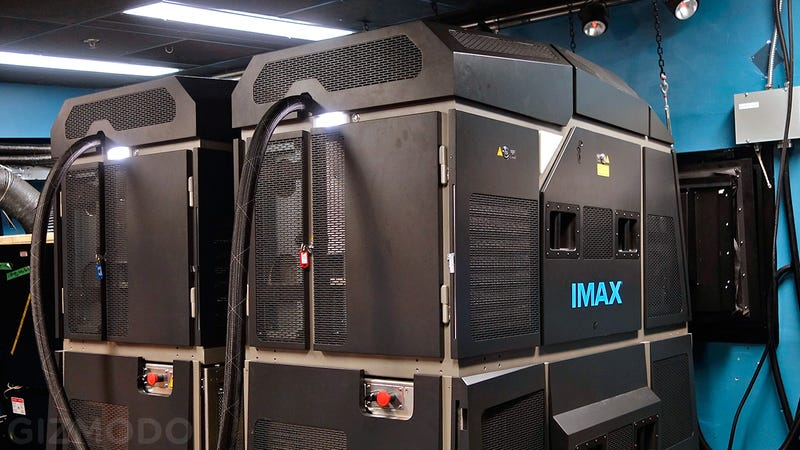 Illustration for article titled IMAX's New Laser Projectors Make Me Wish I Lived In a Movie Theater