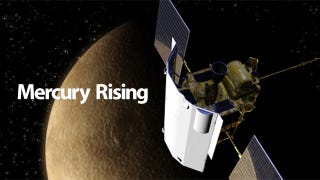 Illustration for article titled NASA Finds Water and Organic Matter In Mercury