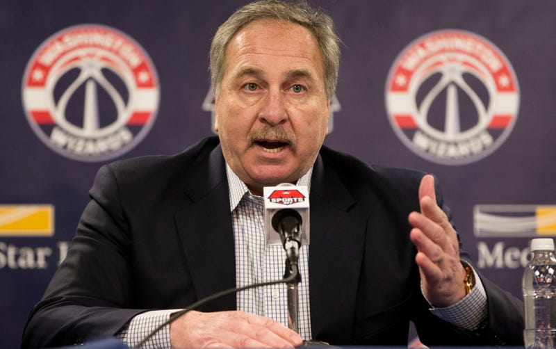 Report: Wizards To Replace Ernie Grunfeld, Finally, My God, I Thought They'd Never Do It