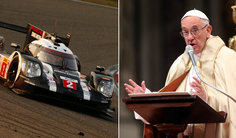 Photo credits: Porsche (left), Getty Images (right)
