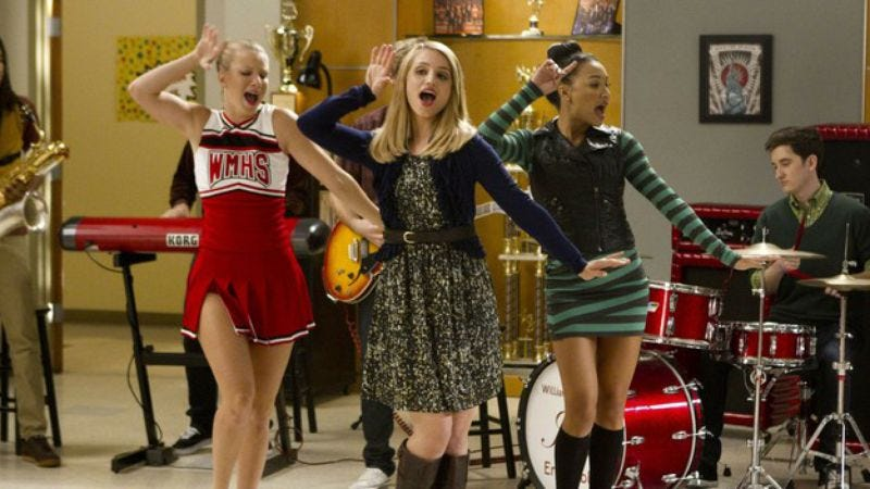 Fox decides now is the time to commit to two more seasons of Glee