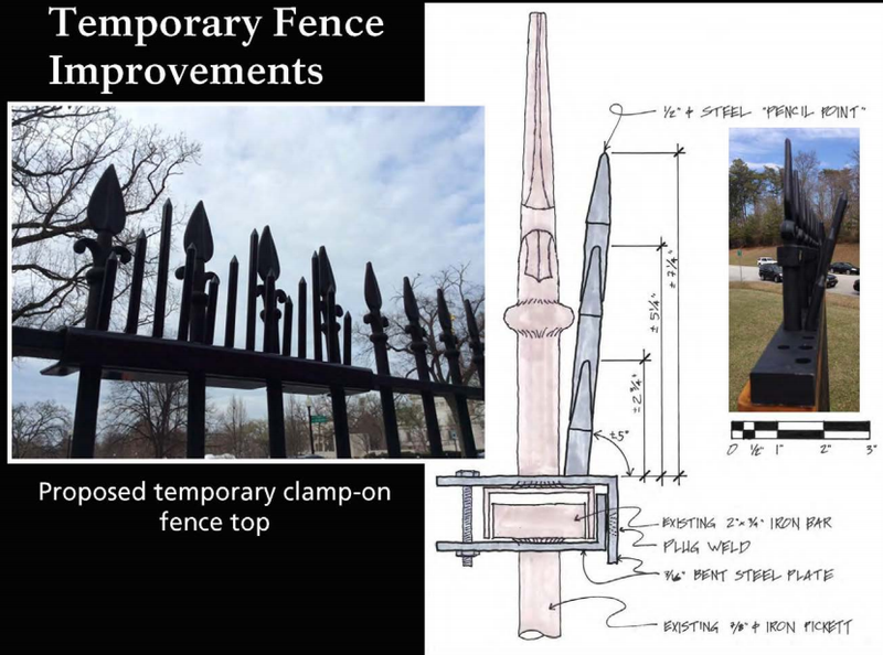 Illustration for article titled The White House's Fence Upgrade Looks Straight Out of Game of Thrones