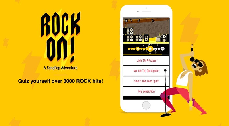 Este juego de iOS es un recorrido maravilloso por la historia del rock