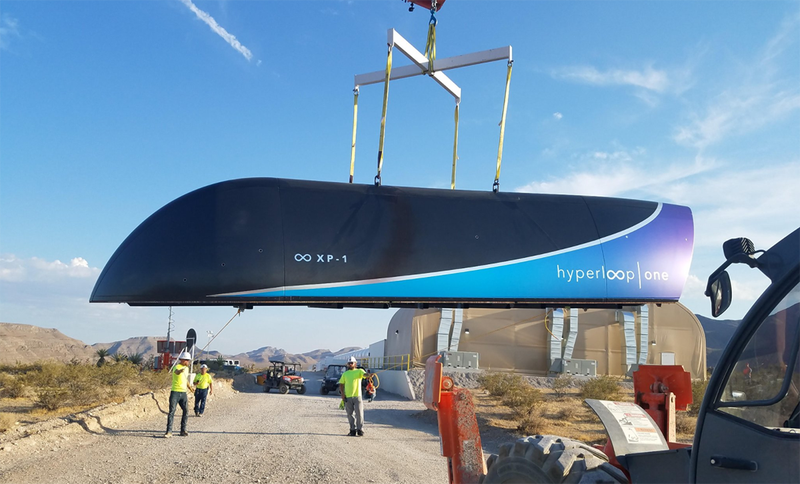 Primera prueba de Hyperloop superada