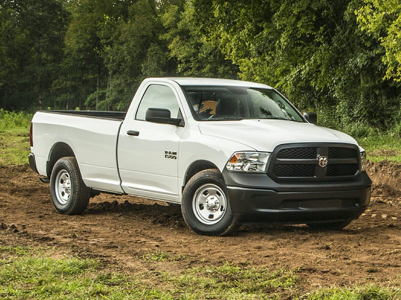 Illustration for article titled Drove a 2016 RAM 1500 Tradesman today...